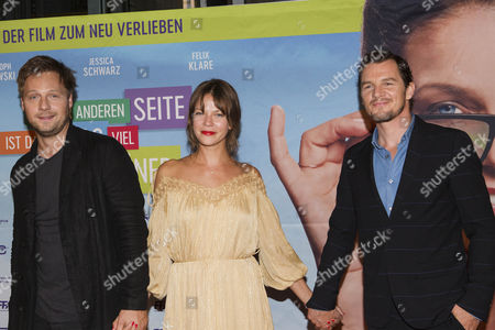 Jessica Schwarz, Felix Klare and  Christoph Letkowski