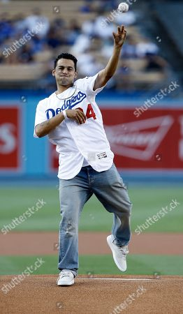 Editorial picture of Diamondbacks Dodgers Baseball, Los Angeles, USA - 05 Jul 2017