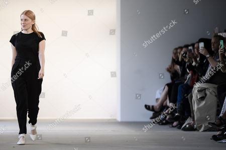 Editorial image of Malaikaraiss - Runway - Mercedes-Benz Fashion Week Berlin, Germany - 05 Jul 2017