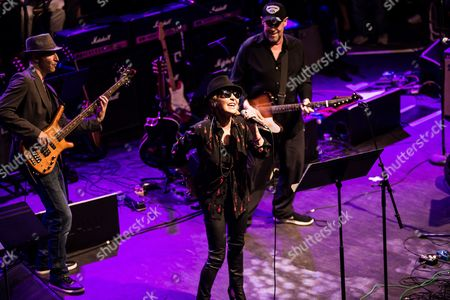 Stock Picture of London United Kingdom - October 25: Vocalist Lulu Performing Live On Stage As Part Of The 'evening For Jack Bruce' Tribute Concert At The O2 Shepherd's Bush Empire In London On October 25