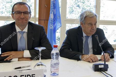 Espen Barth Eide and Antonio Guterres