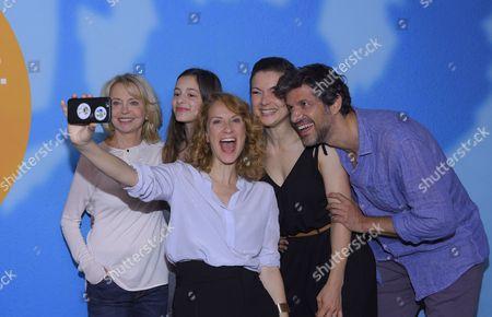 Gisela Schneeberger, Mia Kasalo, Chiara Schoras, Henriette Richter-Roehl and Pasquale Aleardi