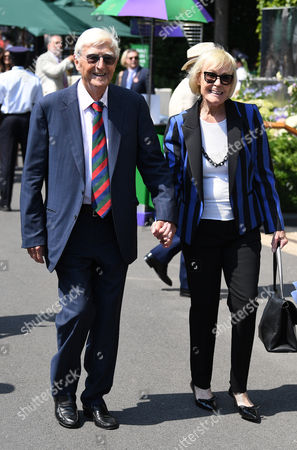 Sir Michael Parkinson and his wife Lady Mary Parkinson