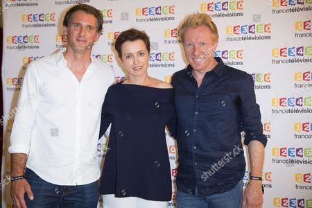 Editorial picture of Rentree France Televisions photocall, Paris, France - 05 Jul 2017