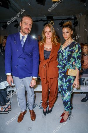 Stella McCartney mit Ehemann Alasdhair Willis, Kenya Kinski-Jones