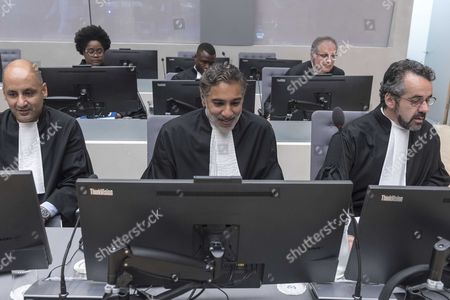 Prosecutors preparing for the case at the International Criminal Court in The Hague at the International Criminal Court in The Hague, Netherlands, 06 July 2017. The judges delivered a decision in the case against Sudan's president Omar Hassan Ahmad Al Bashir that was indicted by the ICC in 2009 and 2010. Media reports state the court said South Africa under the Rome Statute should have arrested Sudan's President Omar al-Bashir while he was visiting South Africa in 2015 where he was attending the African Union Summit.