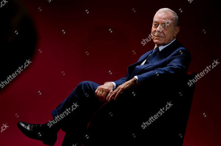 Gianni Letta Gianna Letta, honorary president of the Zeffirelli Foundation, poses for portraits during the presentation of the Franco Zeffirelli International Centre for the Performing Arts at the Foreign Press Club in Rome