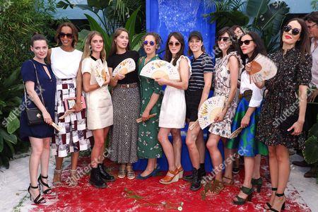 Roxane Mesquida, Sonia Rolland, Dolores Doll, Marie-Ange Casta, Alysson Paradis, Anais Demoustier, Celine Sallette, Louise Monot, Olivia Ruiz and Sofia Essaidi