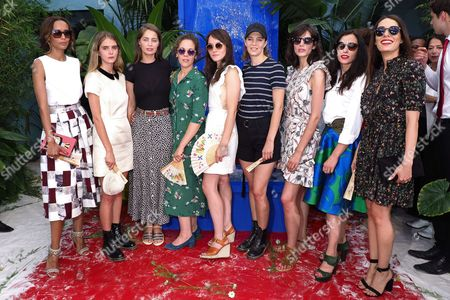 Sonia Rolland, Dolores Doll, Marie-Ange Casta, Alysson Paradis, Anais Demoustier, Celine Sallette, Louise Monot, Olivia Ruiz and Sofia Essaidi
