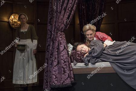 Beth Park as Abigail, Emma Cunniffe as Princess Anne, Romola Garai as Sarah Churchill