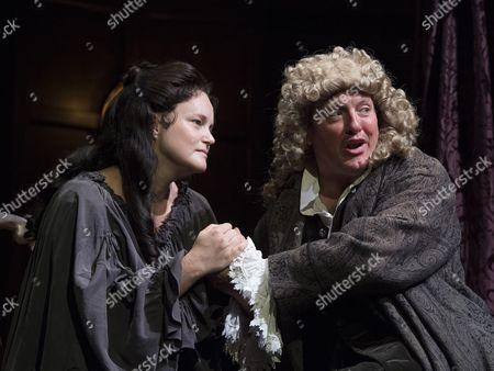 Emma Cunniffe as Princess Anne, Hywel Morgan as Prince George of Denmark