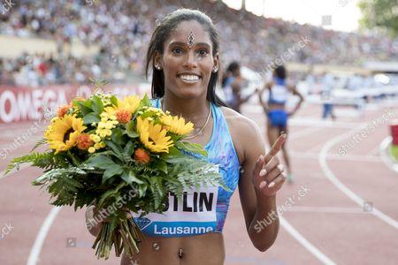 Editorial image of Athletissima international Athletics meeting in Lausanne, Switzerland - 06 Jul 2017