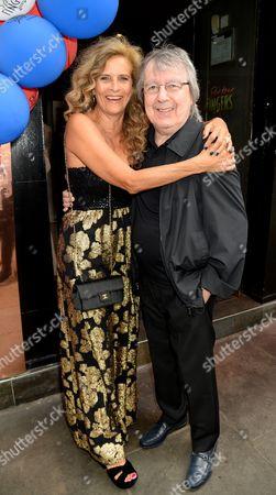 Suzanne Wyman and Bill Wyman