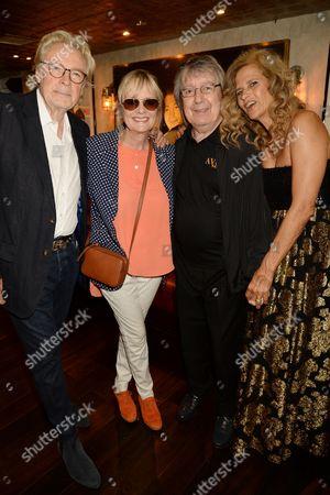 Leigh Lawson, Twiggy, Bill Wyman and Suzanne Wyman