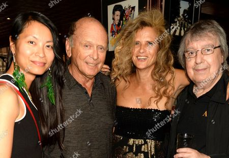 Platina Tong, Brian Stein, Bill Wyman and Suzanne Wyman