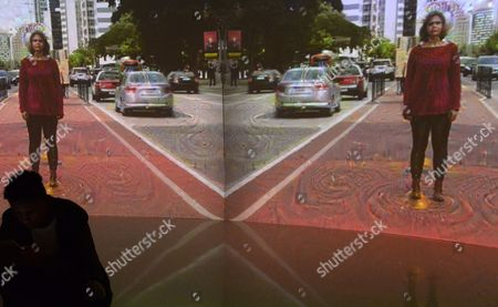 Editorial photo of 'Cybernetic Awareness' art exhibit, Sao Paulo, Brazil - 06 Jul 2017