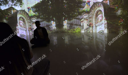 Editorial picture of 'Cybernetic Awareness' art exhibit, Sao Paulo, Brazil - 06 Jul 2017