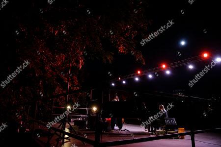 Legendary pianist McCoy Tyner performs at the botanical Garden Citta' Studi, in Milan, Italy