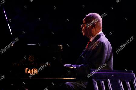 Editorial picture of McCoy Tyner, Milan, Italy - 06 Jul 2017
