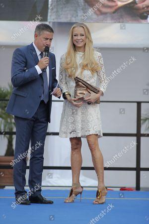 Jenny Elvers and Joachim Llambi