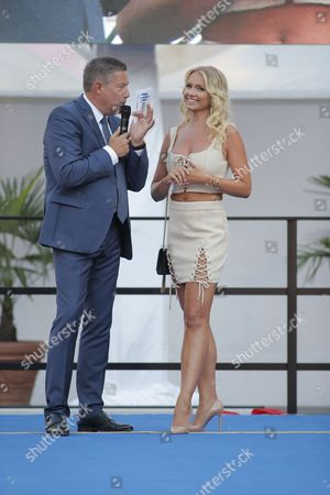 Bloggerin Mandy Lange mit Joachim Llambi