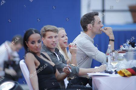 Jurymitglieder Autorin Manuela Thoma-Adofo, Raul Richter , Jenny Elvers and Alexander Mazza