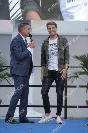 Raul Richter and Joachim Llambi