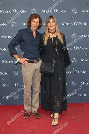 Tanja Valérien Glowacz mit Ehemann Stefan Glowacz,..