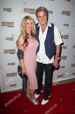 Stock Photo of Lorraine Ziff and Martin Kove
