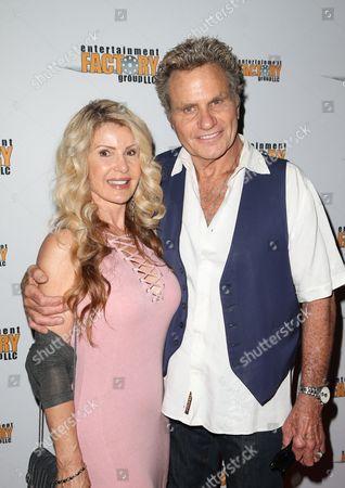 Lorraine Ziff and Martin Kove