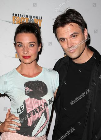 Stock Picture of Cortney Palm, Kash Hovey