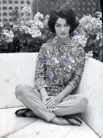 Actress - Zena Marshall - 1964 Zena Marshall Finds Her Ideal Home In The Roof Garden It Is Five Stories Over Belgravia
