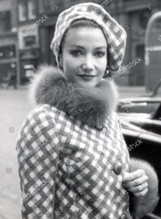 Actress - Zena Marshall - 1968 Actress Zena Marshall Who Married In January Last Year Applied To A Judge In Chambers Today For Leave To Present A Divorce Petition Against Her Landowner Husband Mr Alexander Reginald Ward...