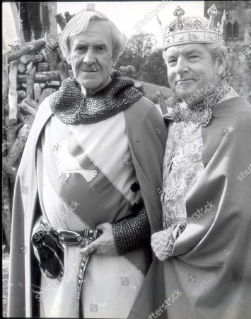 Kenneth More (1914-1982) Actor In Film'the Spaceman And King Arthur' (1978) Kenneth More Stars As 'father Brown' John Le Mesurier (1912-1983) (sir Gawain) And Kenneth More (arthur) Gadzooks And Odobodkins! What A Motley Crew Is Gathered Here. A Host Of British Stars Are Clanking Around In Chainmail And Shiny Suits Of Armour Doing Dastardley Deeds To A Spaceman. And It Is All For A New Walt Disney Comedy Adventure Called The Spaceman And King Arthur....actors Films