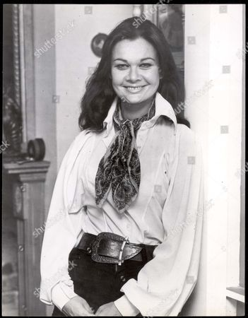 Stock Picture of Unhappy Actress Imogen Hassall Was Found Dead (11/1980) In Bed At Her Home Yesterday. She Was Discovered By Friends Who Called To Take Her Away For A Holiday. Picture Taken In 1977.