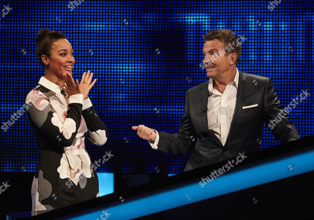 Rhea Bailey and host Bradley Walsh face the Chaser