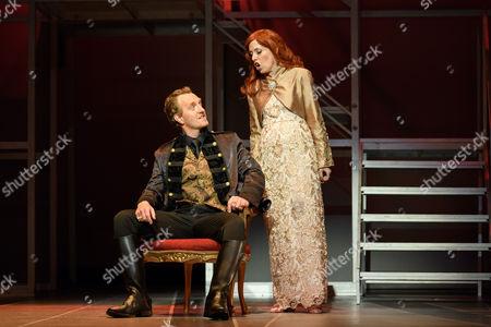 Joshua Ellicott (Lucio Silla), Rebecca Bottone (Giunia)