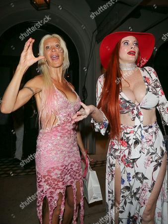 Angelique Morgan and Phoebe Price