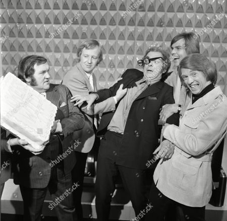 Lennie Bennett, Peter Goodwright, Tim Brooke-Taylor, Les Dawson, with Barry Cryer