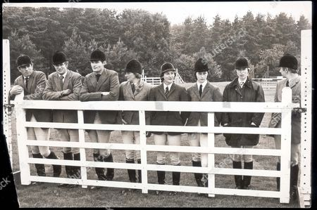 Princess Anne Now Princess Royal & Capt. Mark Phillips - Riding - September - 1974 British Three Day Team Plus Two British Individuals: Mark Phillips Richard Meade Chris Collins Lucinda Prior-palmer Bridget Parker Janet Hodgson Princess Anne And Hugh Thomas. ...royalty