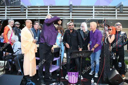 Ringo Starr, David Lynch, Jenny Lewis, Edgar Winter, Barbara Bach, Zak Starkey, Peter Asher, Jim Keltner, Gregg Bissonette, Matt Sorum