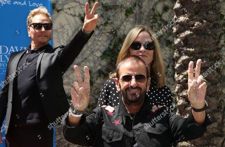 Ringo Starr, Barbara Bach, Matt Sorum
