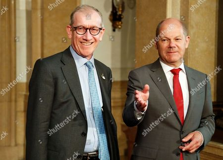 Olaf Scholz and Philip John May