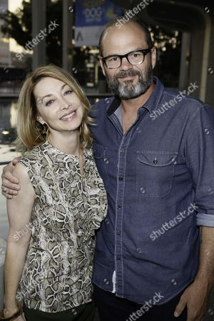 Sharon Lawrence and Chris Bauer