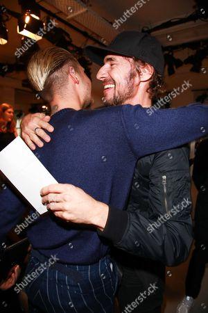 Bill Kaulitz and Thomas Hayo