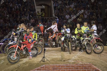 Editorial picture of Red Bull X fighters, Madrid, Spain - 07 Jul 2017