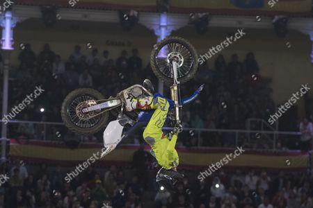 Spanish rider Christian Meyer