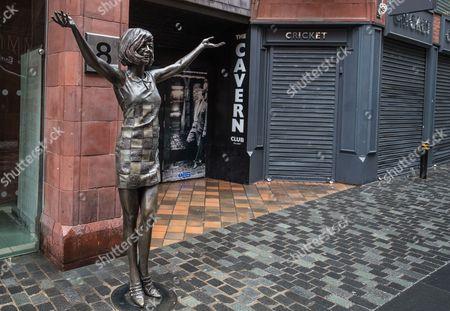 Editorial image of Cilla Black statue, Liverpool, UK - 01 Jul 2017