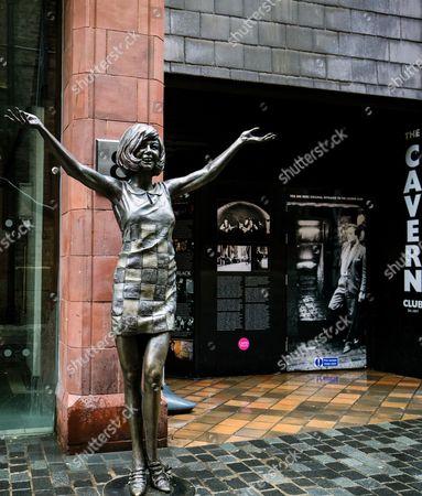Editorial photo of Cilla Black statue, Liverpool, UK - 01 Jul 2017