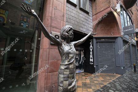 Editorial picture of Cilla Black statue, Liverpool, UK - 01 Jul 2017